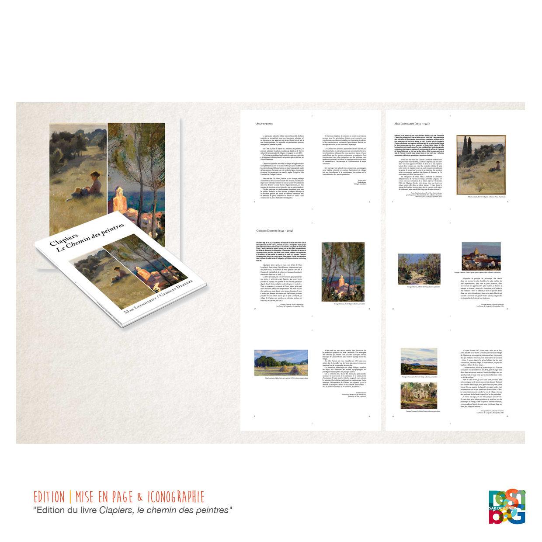 EDITION | MISE EN PAGE & ICONOGRAPHIE LIVRE D'ART