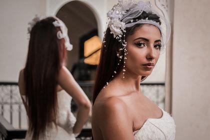 Shooting Model Robe de Marié, Marrakech