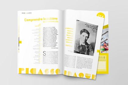Création graphique, magazine d'art