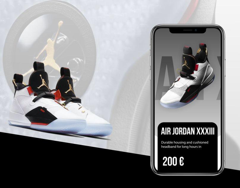 Campagne Mobile Air Jordan