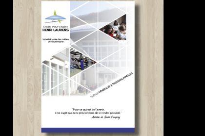 Brochure pour un lycée professionnel