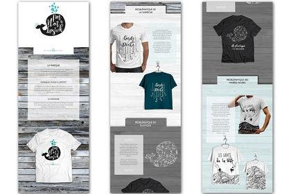 Marque de T-shirt écologique