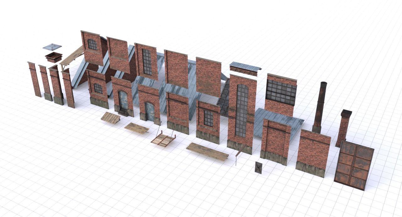 Assets 3D (décomposé)