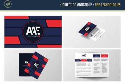 AAE Technologies   Identité visuelle