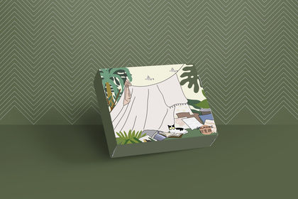 Illustration packaging pour OSL home