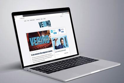 Site internet Vérino