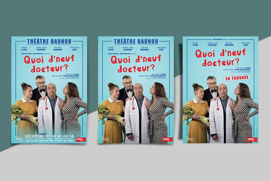 Affiches Quoi de neuf docteur