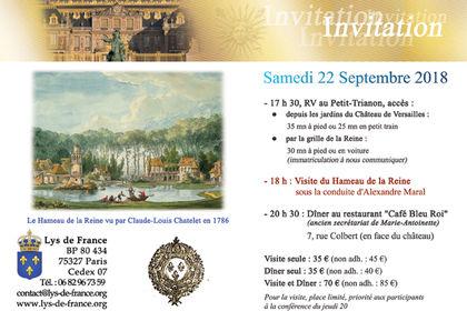 Invitation Association Lys de France