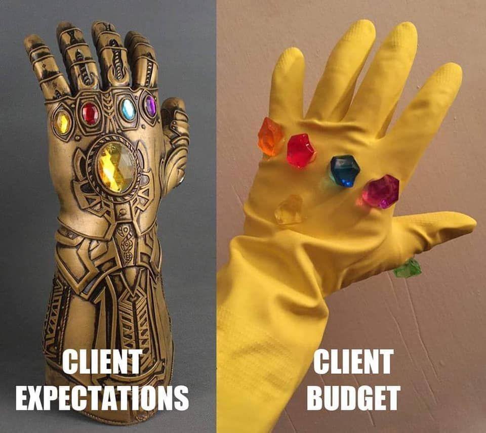 Comparatif entre le client et le prestataire