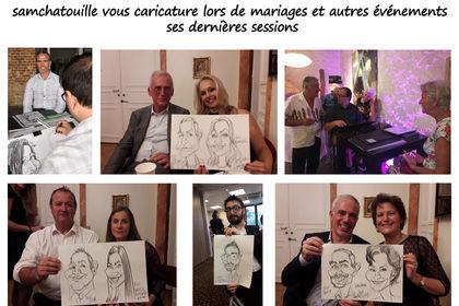 Samchatouille réaliser des caricatures