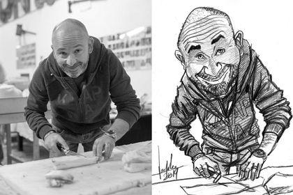 Portrait/caricaturer suite pour particulier