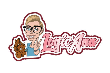 "Logotype pour une jeune Youtubeuse "" LogicAna"""