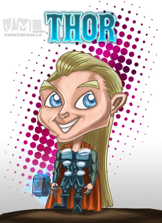 Thor version version chibi