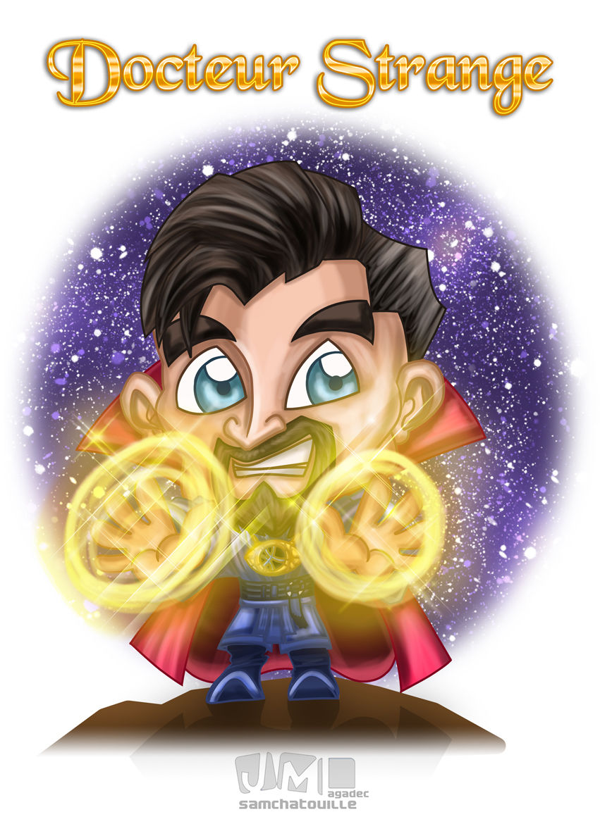 Docteur Strange version Chibi