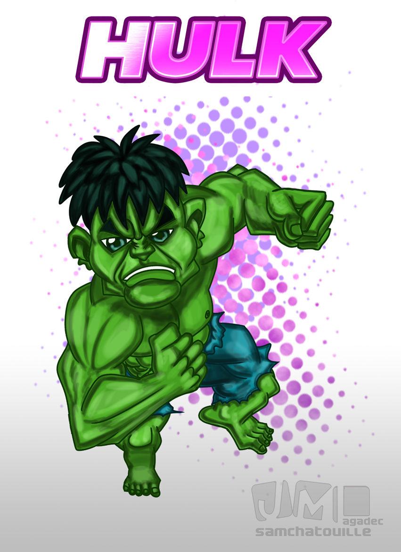 Hulk version version chibi