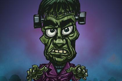 Personnage d'Halloween [Frankenstein]