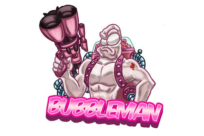 Bubbleman logo/avatar