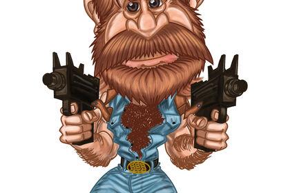 Chuck Norris (Badass)