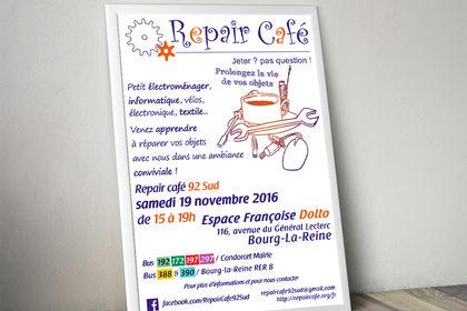 Affiche pour un Repair Café