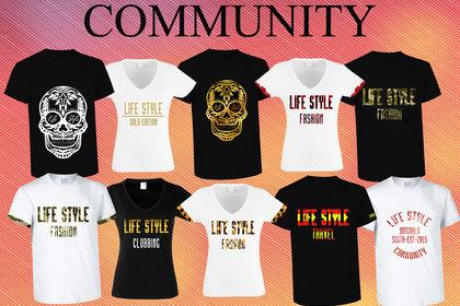 Collection de T-shirt pour Community