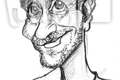 Caricature de Philippe Pouton