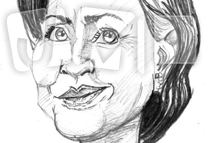 Portrait Hillary Clinton