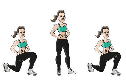 Zazie personnage d'illustration une appli sportif
