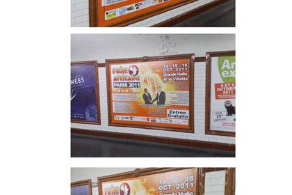 Affiche pour la Foire Africaine édition 2011