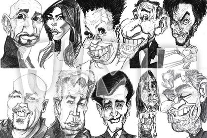 Caricatures 2018