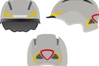 Réalisation casque de vélo