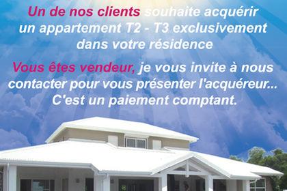 Flyer pour VIP Immobilier