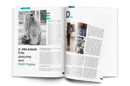 Magazine de mode (fictif)