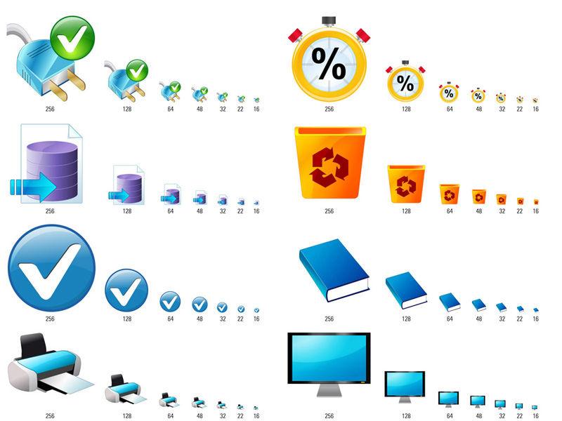 Création d'icones applicatif