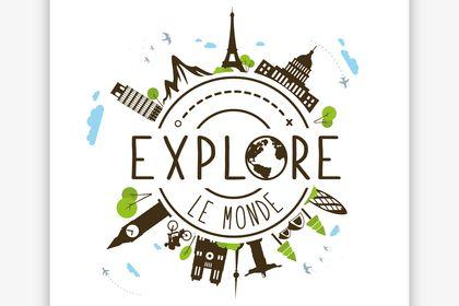 Logo Explore le Monde