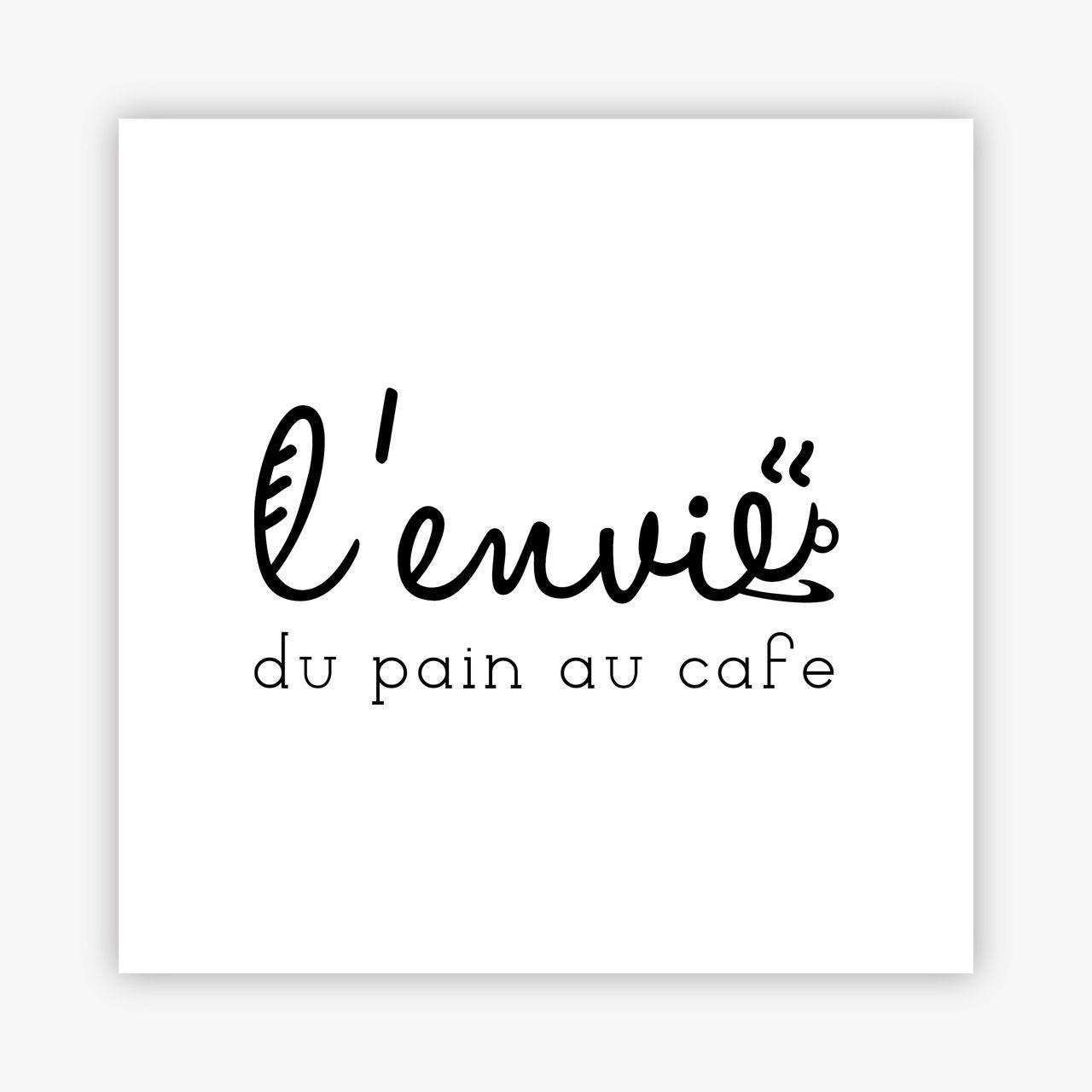 Logo L'Envie du pain au café
