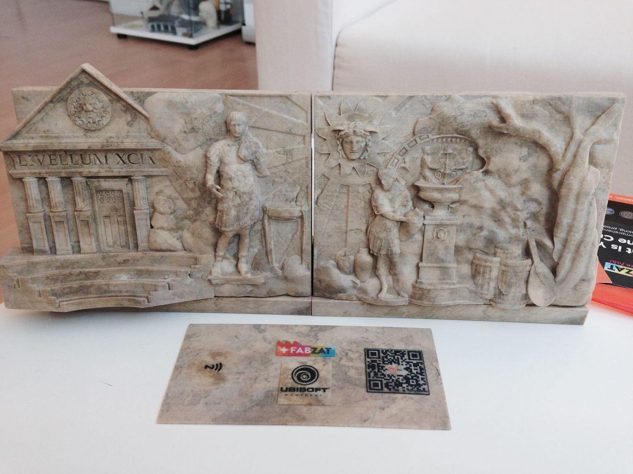 Frise romaine details