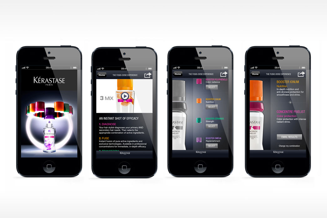 Application mobile Kérastase