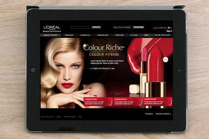 Landing Page L'Oréal Paris