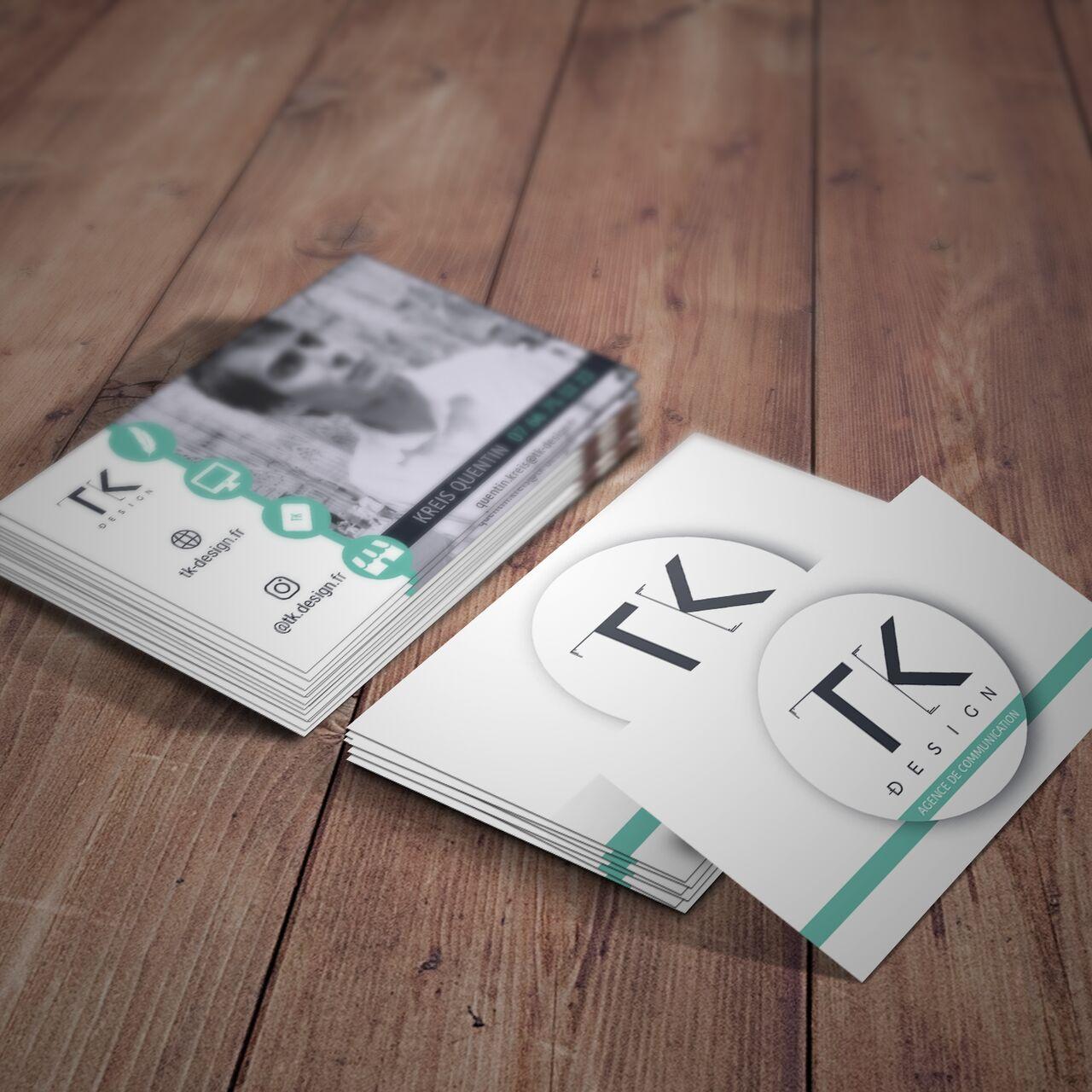 Cartes de visite TK-Design