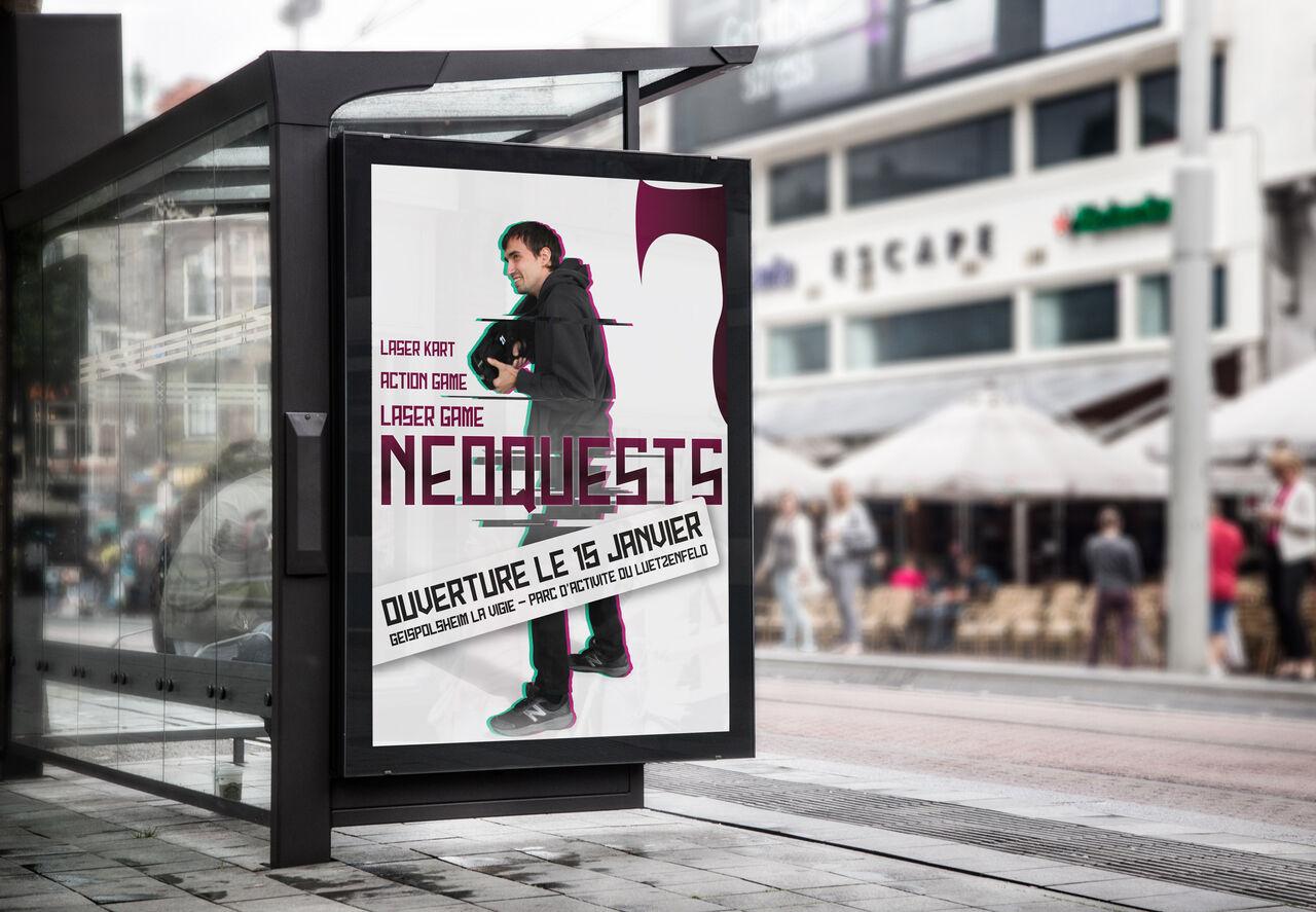 Affiche NéoQuests