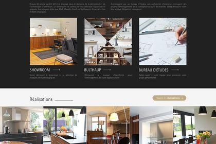 Page d'accueil M2