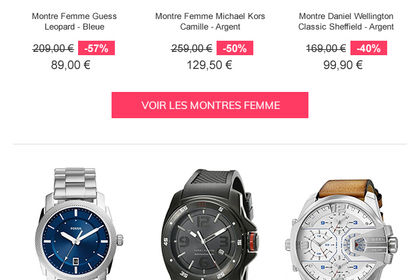 Emailing Soldes ChicTime
