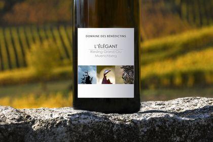 Création d'une gamme d'étiquettes de vin