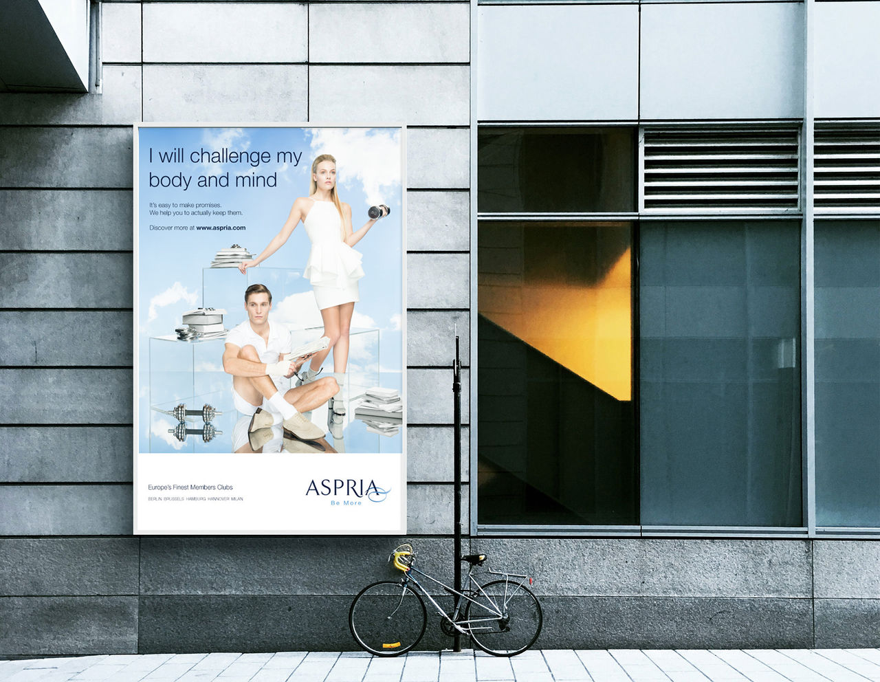 Aspria publicité affichage