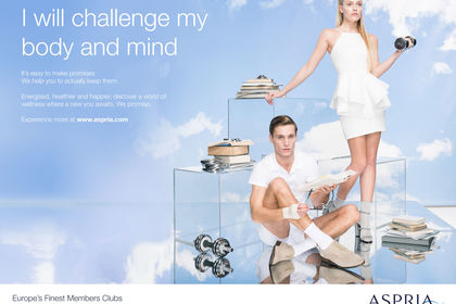 Aspria Body & Mind Campagne Multichannel