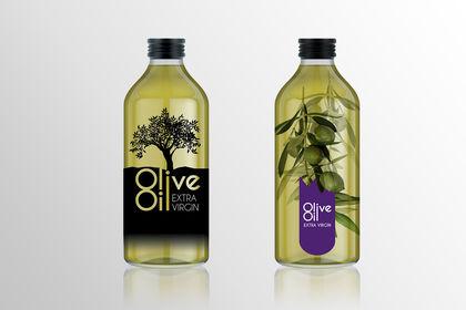 Design bouteilles Huile d'olive Emborg