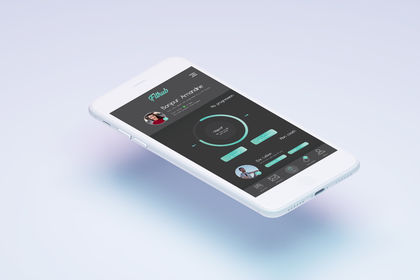 Maquette application mobile - Fithub