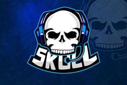 Logo esport - Team Skull