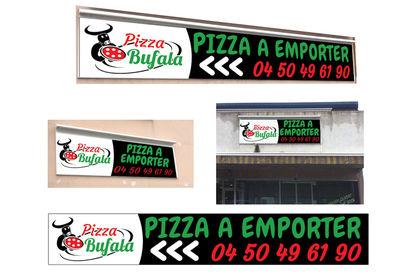 """Enseigne """"Pizza Bufala"""""""