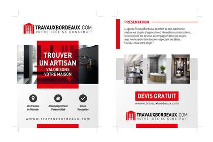 Flyers pour Travaux Bordeaux A5